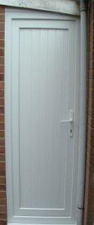 Solid Back Door