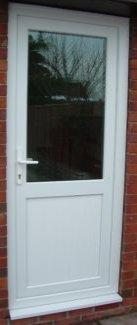 Half Glazed Back Door